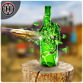 Expert Gun Bottle Shooting Free Game 2018