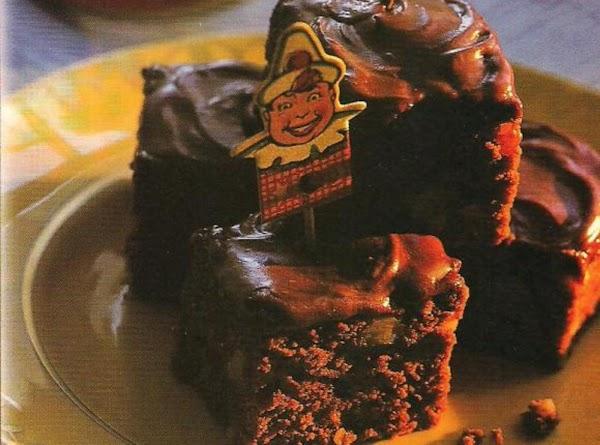 Chocolate Fudge Squares With Mocha Glaze Recipe