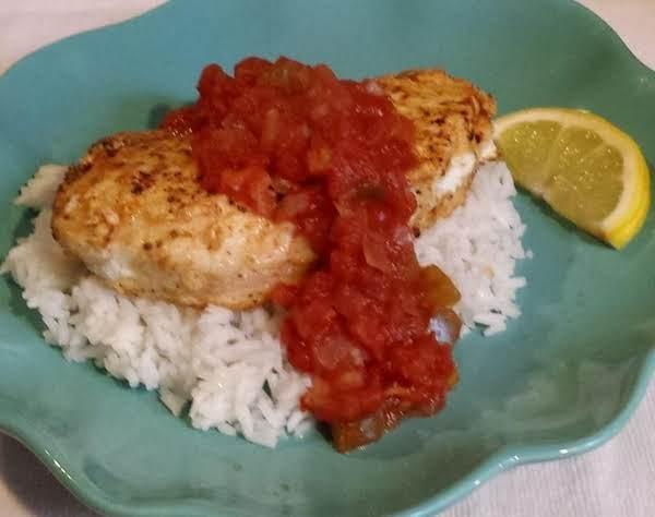 Ethiopian-style Fish And Rice (wali Na Samaki)