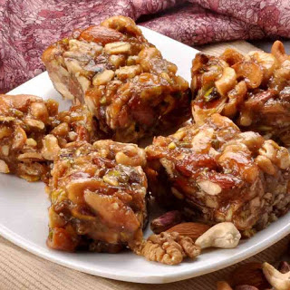 Dry Fruit Barfi (Halwa) Recipe (A Healthy Dry Fruit Snack)