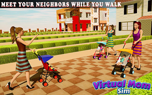 Download New Virtual Mom Happy Family 2020:Mother Simulator For PC Windows and Mac apk screenshot 9