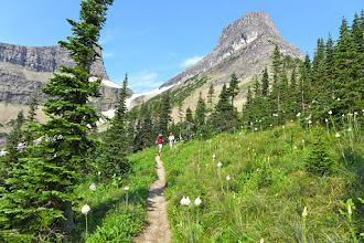 Photo: Day #3 - hiking down from Stony Indian Pass