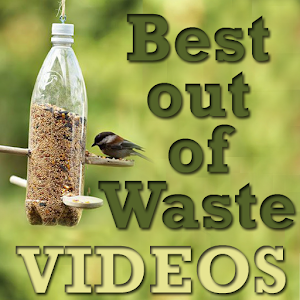 Best out of waste craft videos android apps on google play for Things made out of waste
