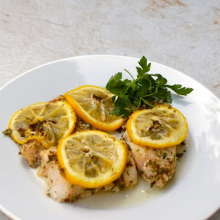 Easy Baked Fish with Lemon and Herbs