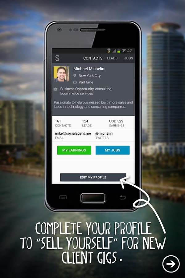 Social Agent Connect- screenshot