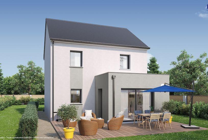 Vente Terrain + Maison - Terrain : 815m² - Maison : 88m² à Montagny-lès-Beaune (21200)