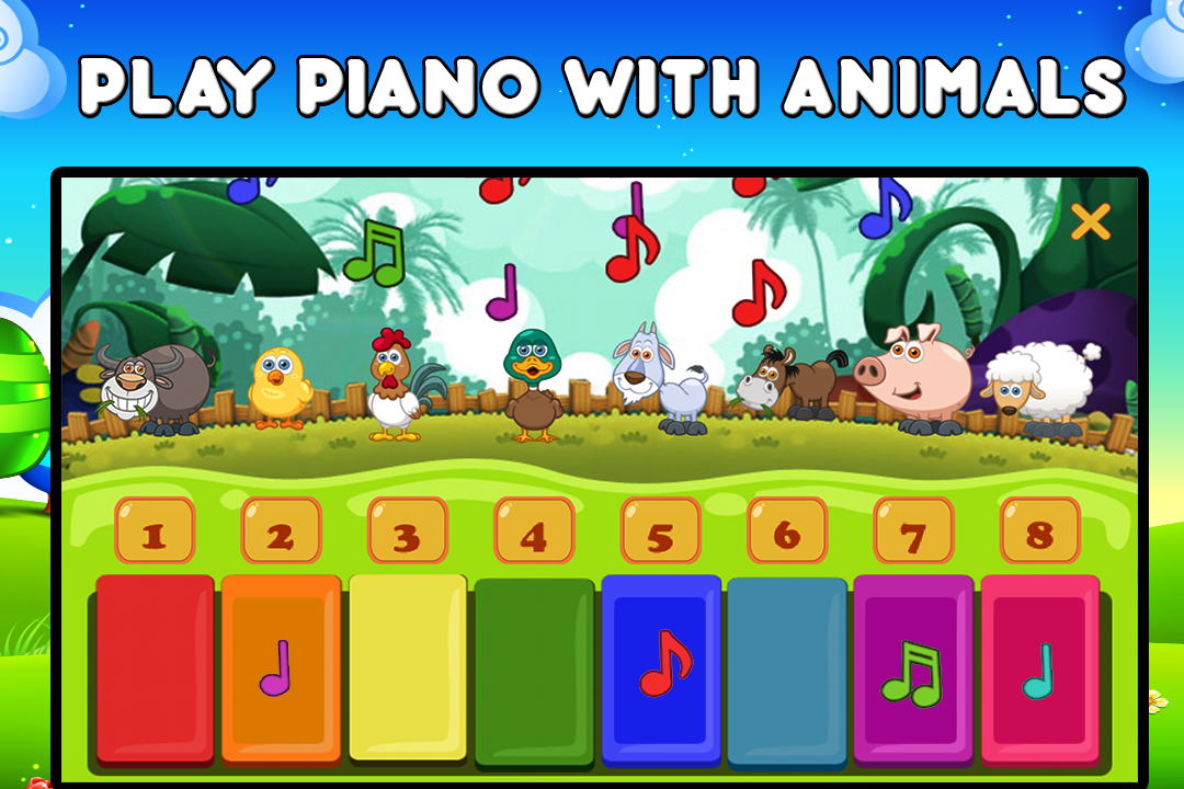 Farm Animals For Toddler- screenshot