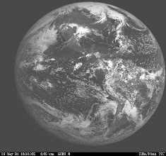 Photo: Received direct from GOES Satellite by WB9OTX