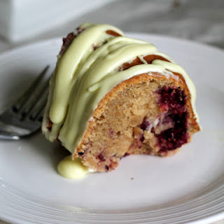 Lemon Blackberry Yogurt Bundt Cake