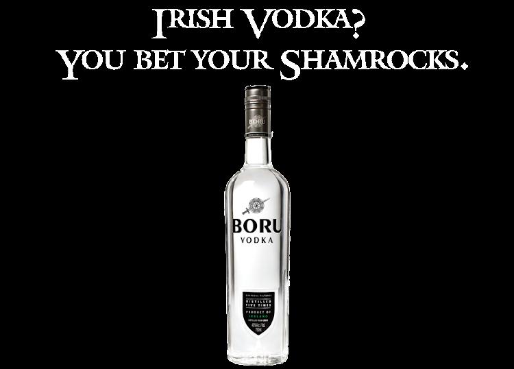 Logo for Boru Vodka