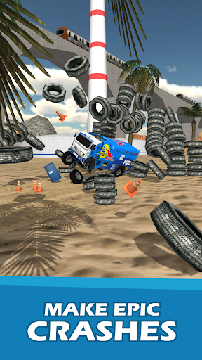 Stunt Truck Jumping screenshot 3