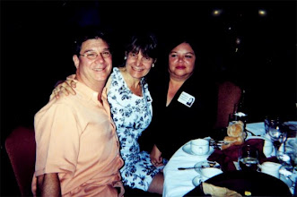 Photo: Parris Bertolucci, Lynn, and Margy Regalado at the 2002 ReUnion