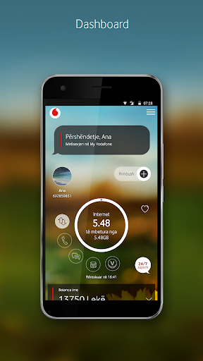 My Vodafone (AL) 4.5.0.0 screenshots 1