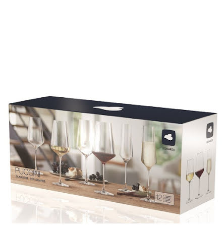 Puccini Multipack vitvin - rödvin - champagneglas