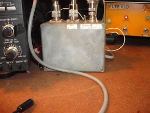 Photo: Le boitier de commande de réception séparée et télécommande de la K9AY