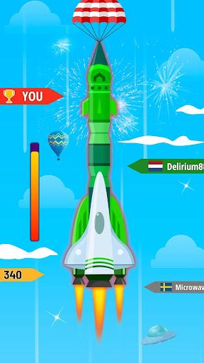 Télécharger Rocket Blue: Flying! mod apk screenshots 3