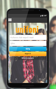 Unifoni- screenshot thumbnail