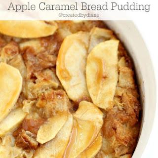 Apple Caramel Bread Pudding