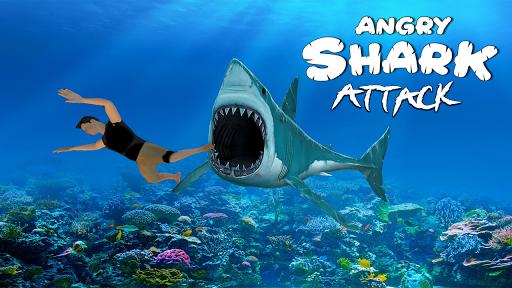 Angry Shark Attack - Wild Shark Game 2019 1.0.13 screenshots 7