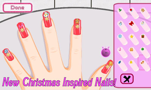 A-List Girl ★ Christmas Nails 1.3.4 screenshots 2