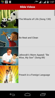 Bible Videos - screenshot