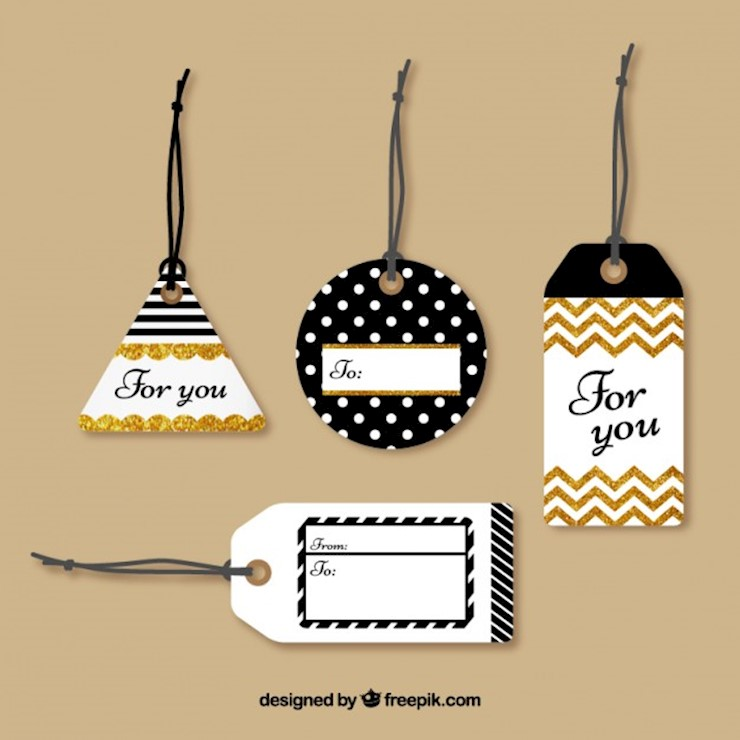 tags-collection-with-glitte