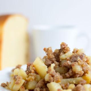 Maple Sausage Breakfast Hash