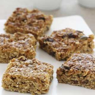Honey and Sultana Flapjacks.