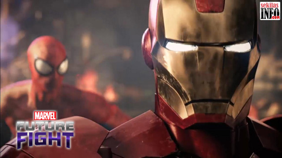 Screen shot from Trailer Game Marvel Future Fight
