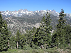 Photo: Minarets, Mount Ritter and Banner Peak from Minaret Summit