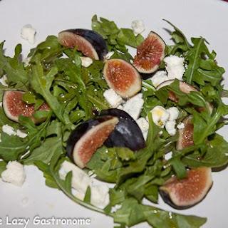 Fig, Arugula & Blue Cheese Salad Recipe