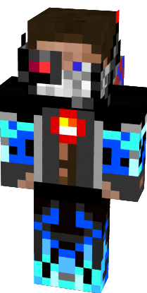 Minecraft Wallpaper 3d Herobrine Robot Steve Herobrine Nova Skin