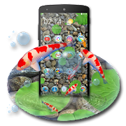 App KOI Lucky Fish 3D Theme APK for Windows Phone
