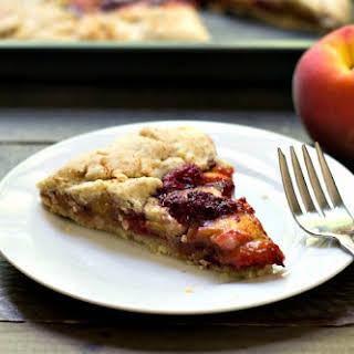 Raspberry Peach Galette.