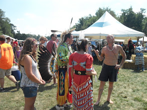 Photo: Columbia City IN YRE- Morsches Park-Indian Pow Wow