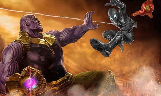 Thanos Monster Vs Avengers Superhero Fighting Game 1.0 2