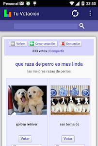 Tu Votación screenshot 3
