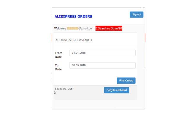 ALIEXPRESS ORDERS