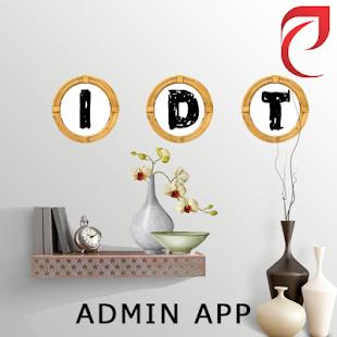 IDT ADMIN APP - náhled