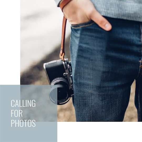 Calling for Photos - Instagram Post Template