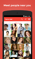 Screenshot of Cerca chat dating & friends