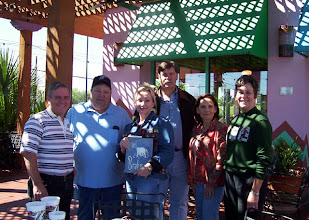 Photo: Terry Dietz, Tom Allen, Suzy (Wright) Thomas, Ralph Rogers, Nancy (Seiler) McCarthy, Carol (Craven) Barnes