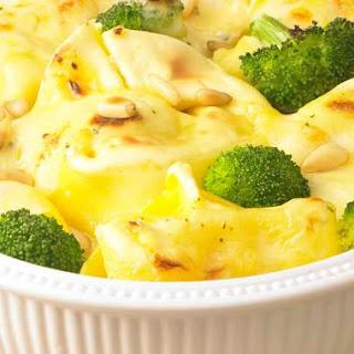 Tortellini-Broccoli-Auflauf