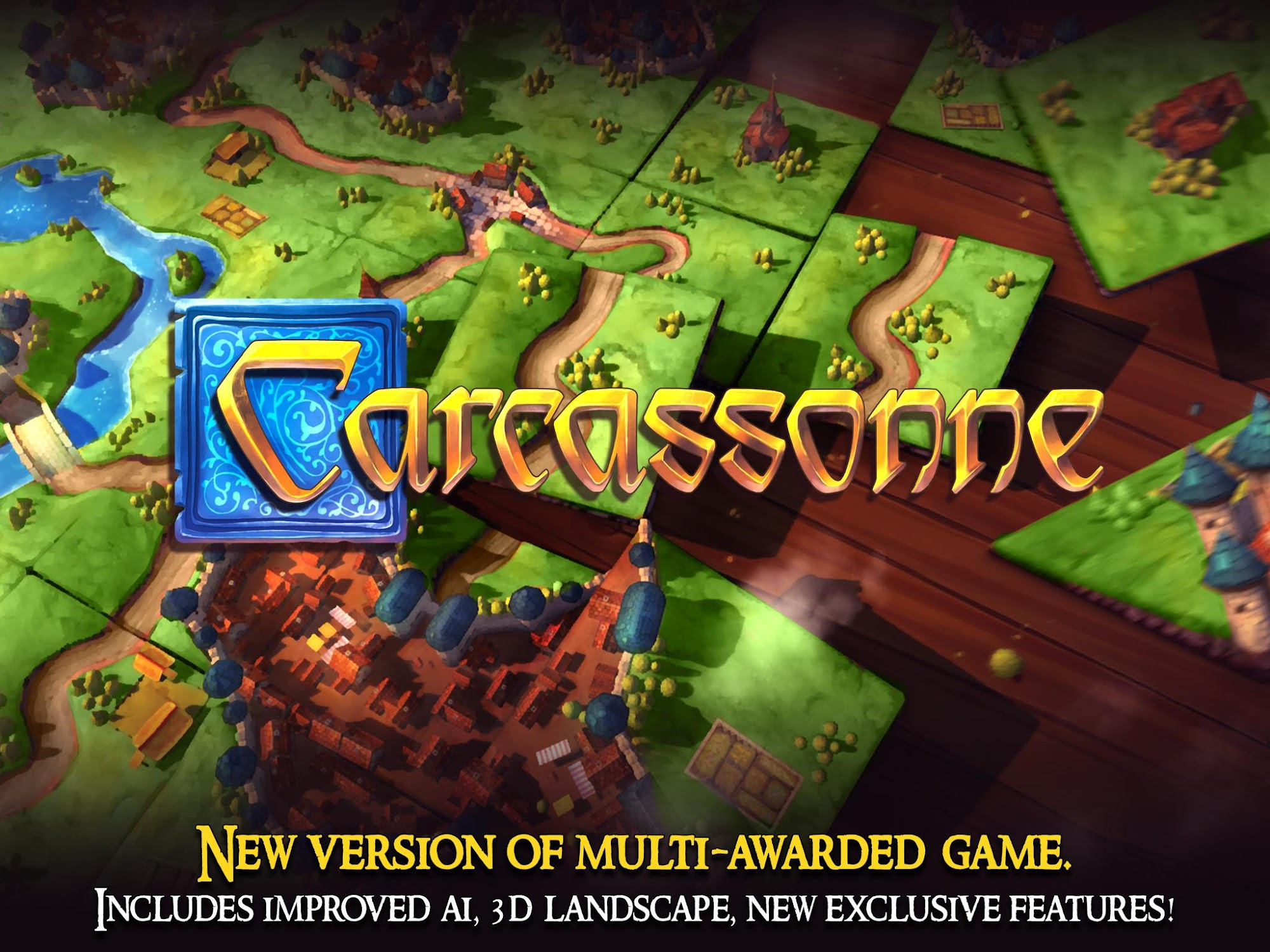 Carcassonne: Official Board Game -Tiles & Tactics screenshot #7