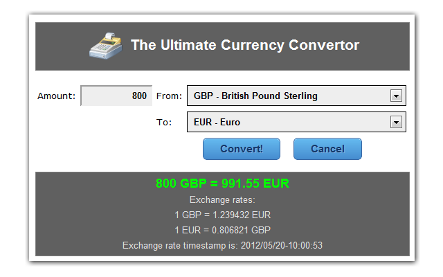 Currency Convertor