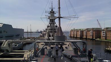 Photo: The Battleship Wisconsin