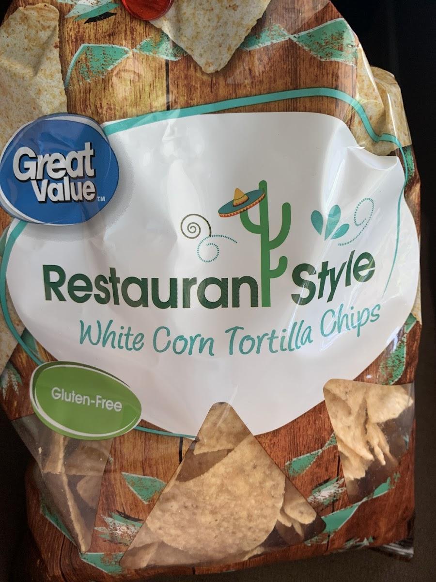 Restaurant Style White Corn Tortilla Chips