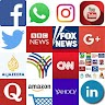 All Social Networks and News Media icon