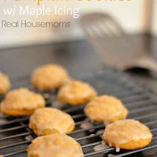 Pumpkin Cookies w/ Maple Frosting