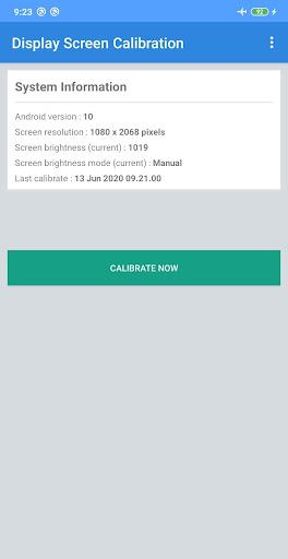 Screenshot 1 Display Screen Calibration